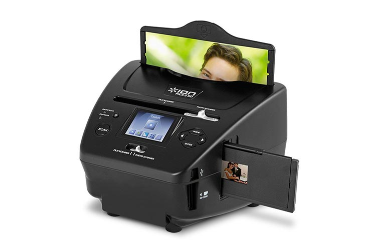 Pics2SD Scanner multiformat diapositives negatifs