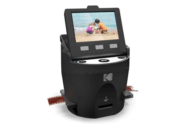 Le Kodak Digital Film Scanner: rapide, de qualité et à bon prix