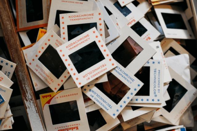 Les Diapositives photos et négatifs: types et numérisation photo